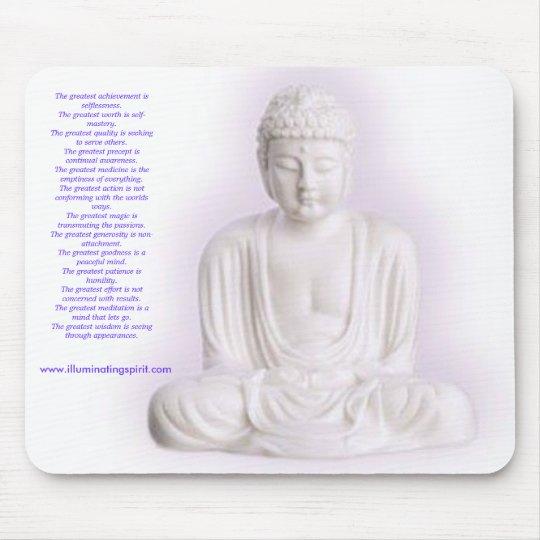 Buddha Inspiration Pad Mouse Mat