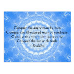 Buddha Inspirational Words of Wisdom  QUOTE Postcards