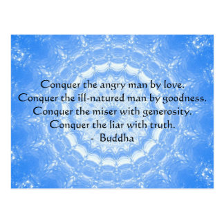 Buddha Inspirational Words of Wisdom  QUOTE Postcard