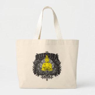 Buddha Is My Om Boy Large Tote Bag