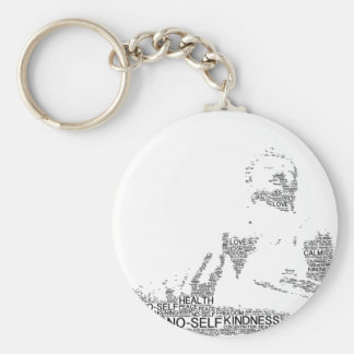 buddha key ring