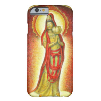 Buddha Kuan Yin Golden Lotus iPhone 6 Case Barely There iPhone 6 Case