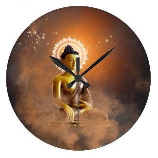 Buddha Large Clock