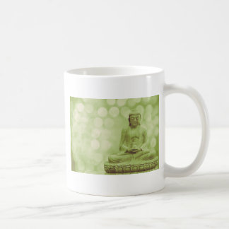 buddha light (light green) mug
