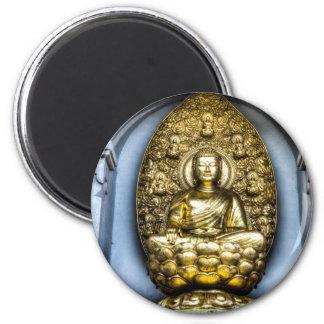 Buddha London 6 Cm Round Magnet