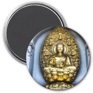 Buddha London 7.5 Cm Round Magnet