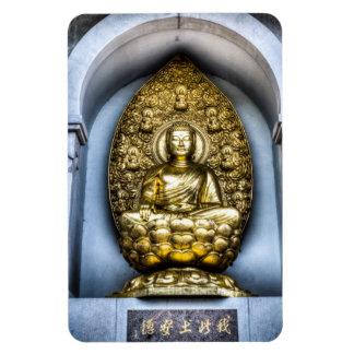 Buddha London Rectangular Photo Magnet