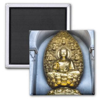 Buddha London Square Magnet