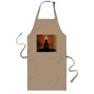 Buddha Long Apron