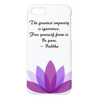 Buddha Lotus Inspiration iPhone 7 Case