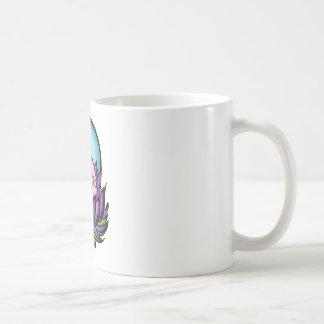 Buddha Lotus Basic White Mug