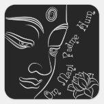 Buddha Lotus Om Mani Padme Hum