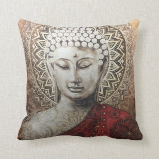 Buddha Love Throw Pillow