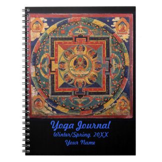 Buddha Mandala Yoga Journal Personalized