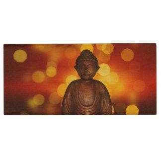 Buddha Wood USB 2.0 Flash Drive