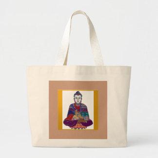 BUDDHA Master Yoga Spirit Lord Teacher Meditation Canvas Bags