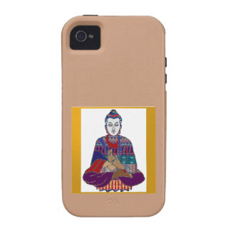 BUDDHA Master Yoga Spirit Lord Teacher Meditation Case-Mate iPhone 4 Cover