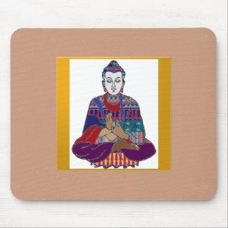 BUDDHA Master Yoga Spirit Lord Teacher Meditation Mousepads