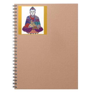 BUDDHA Master Yoga Spirit Lord Teacher Meditation Notebook