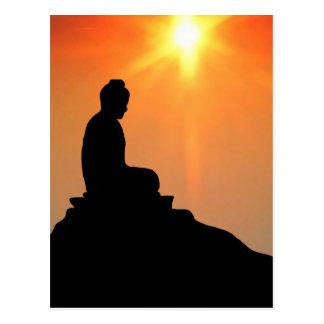 Buddha Meditating Postcard