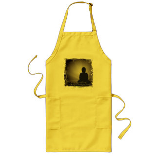 Buddha Mind Is Everything Aprons