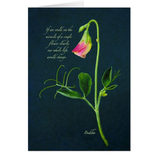 Buddha Miracle Quote Card