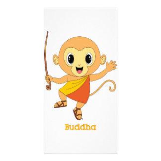 Buddha Monkey™ Photo Card