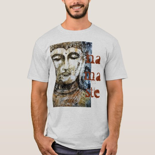 Buddha Namaste Watercolor Men's T-Shirt