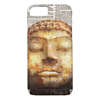 Buddha newsprint I phone Case