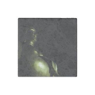 Buddha Night Stone Magnet