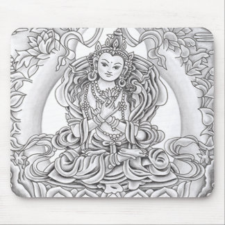 Buddha of Compassion Mouse pad