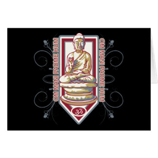 Buddha Om Mani Padma Hum Card