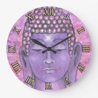 Buddha Painting Wall Clocks