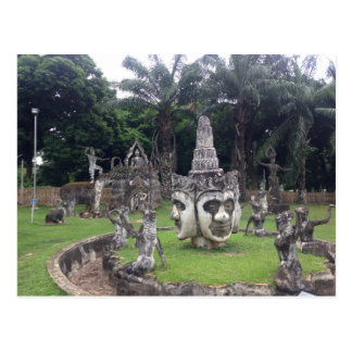 Buddha Park Postcard