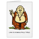 Buddha Peace Card