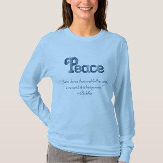 Buddha Peace Quote Shirt