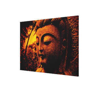 Buddha Peace Shine Wrapped Canvas Gallery Wrap Canvas
