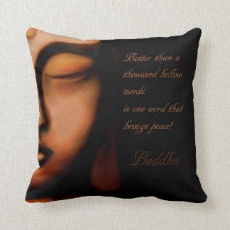 Buddha-peace Throw Pillow