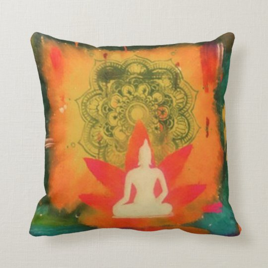 Buddha Pillow, Lotus, Mandala, Zen Cushion
