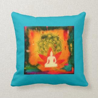Buddha Pillow, Lotus, Mandala, Zen Throw Pillow