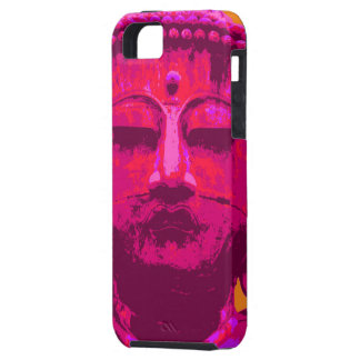 Buddha pink and orange tough iPhone 5 case