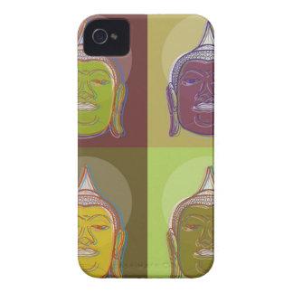Buddha Pop Art Retro Modern iPhone 4 CaseMate iPhone 4 Case-Mate Case