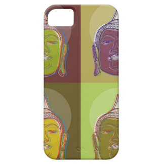 Buddha Pop Art Retro Modern iPhone 5 CaseMate iPhone 5 Case