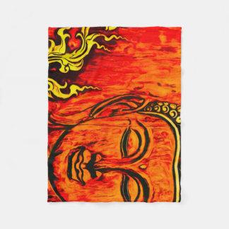 Buddha Purity Fleece Blanket