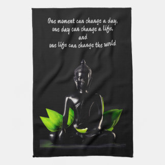 Buddha Quote 2 hand towel