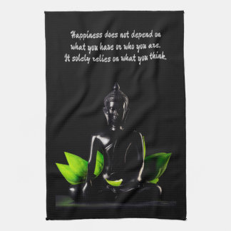 Buddha Quote 4 hand towel