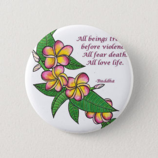Buddha Quote 6 Cm Round Badge