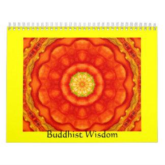 Buddha quote inspirational yoga meditation art calendar