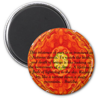 Buddha quote inspire motivational magnet