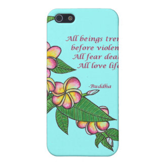 Buddha Quote iPhone 5/5S Covers